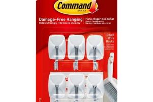 FREE Command Hooks at Dollar Tree!