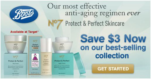 Printable Coupons And Deals 3 Off Boots No7 Protect Amp Perfect Skincare Item Target Facebook