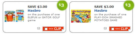Hasbro new toys Printable Toy Coupons from Hasbro Playsaver