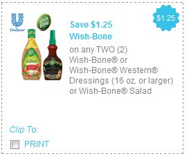 photo relating to Unilever Printable Coupons named Present Unilever Coupon codes (Wishbone, I Cant Consider Its not