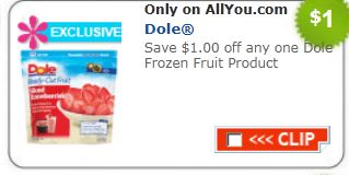 image relating to Coolsavings Printable Coupons known as Frozen fruit discount coupons printable