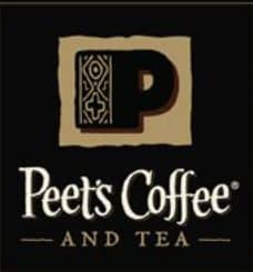 Peet's tea and coffee
