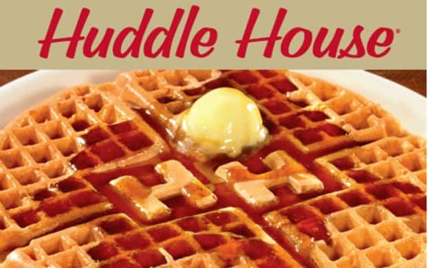 graphic relating to Huddle House Coupons Printable identified as Huddle Room: Absolutely free Golden Waffle (Upon July 19th) - Printable