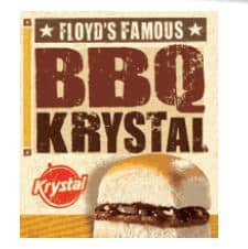 image about Krystal Printable Coupons named Krystal: One particular Totally free BBQ Krystal - Printable Discount codes and Promotions