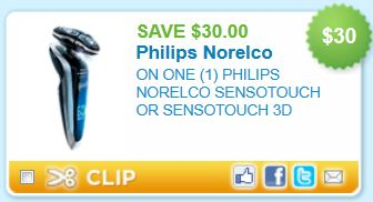 photo regarding Philips Norelco Printable Coupon identified as Norelco Discount codes: $30 off 1 Philips Norelco Sensotouch or