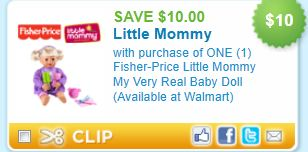 photograph relating to Fisher Price Printable Coupons identify Fisher-Expense Minimal Mommy My Fairly Accurate Little one Doll Printable