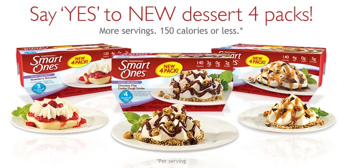 Weight watchers smart  ones frozen desserts