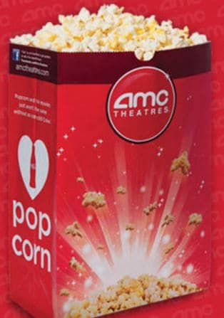 photo regarding Amc Printable Coupons identified as AMC Theatres: Totally free Lower Popcorn (No Other Order