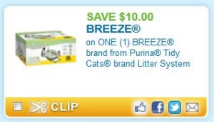 Printable Coupons And Deals Breeze Cat Litter