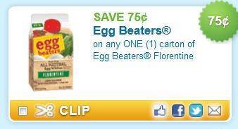 Sorry, no Egg Beaters offers currently available.