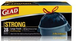 1 Off Any Glad Black Trash Bags 25 Count And Higher Facebook Coupon Printable Coupons Deals