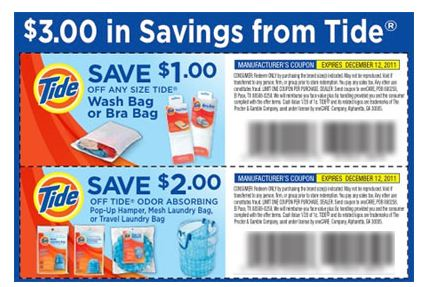 Printable Coupons And Deals Tide Bag