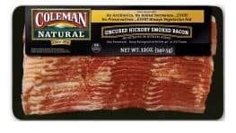 Coleman Natural bacon