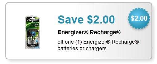 Energizer rechargeable batteries printable coupon