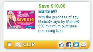 Barbie toys Dec