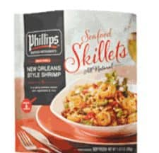 Philips seafood skillet meal