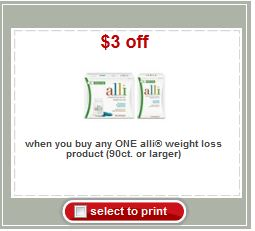 photo regarding Alli Coupon Printable titled Ali Fat Reduction Printable Coupon - Printable Coupon codes and Bargains