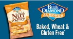 Blue diaond nut chips