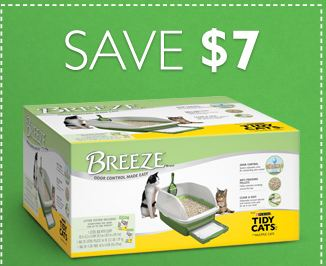 Breeze kitty litter