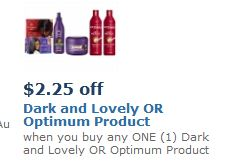 Dark and lovely coupon network
