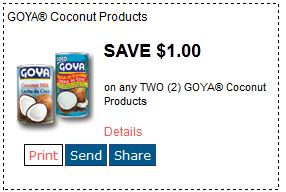 Goya coconut Jan