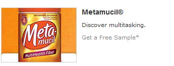 Metamucil free sample