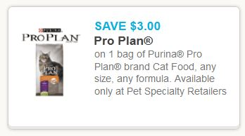 Purina pro plan cat food Jan