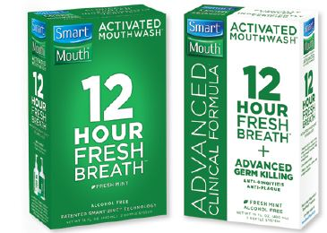Unlike other mouthwashes, SmartMouth mouthwash provides its users an enjoyable experience. % alcohol free mouthwash will ensure that there is no burning or stinging of the tongue or mouth while using it. Shop SmartMouth coupons today.