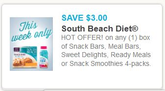 South beach diet bars Jan