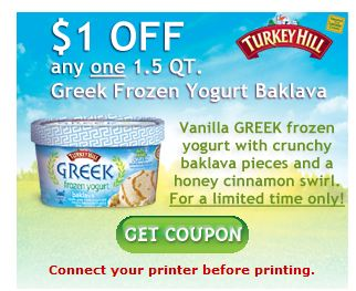 Turkey hill frozen Yogurt