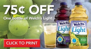 Welch's Light juice