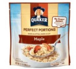 quaker perfect poritons maple