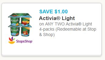 Activia light Feb