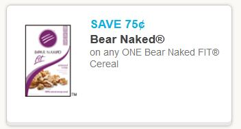 Bear naked fit cereal Jan