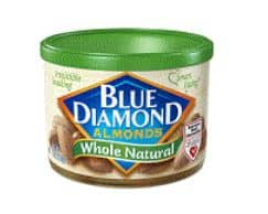 Blie Diamond almonds