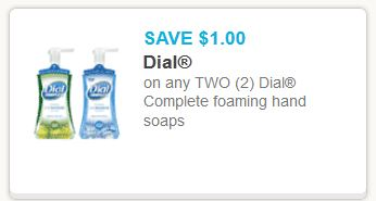 Dial complete foaming hanb soap
