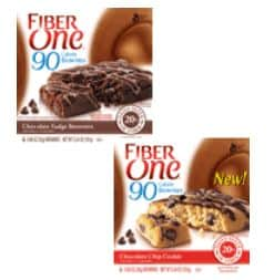 Fiber ONe 90 calorie brownies Feb