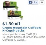 Greeen mountain k cups