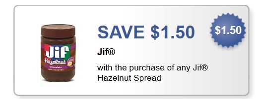 Jif hazelnut Spread Feb