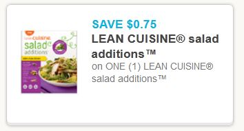 Lean cuisine salad additoin feb