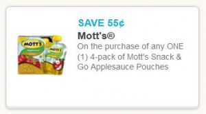 Motts snack to go 4-pack
