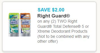 Right guard total defense 5 Feb deodorant
