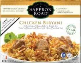 Saffron road chicken stuff