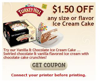 Turkey hill ice cream cake