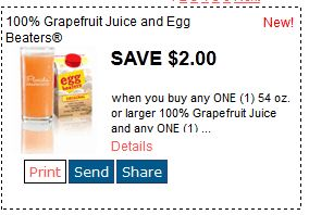 egg beaters grapefruit