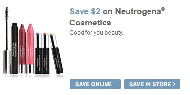 Neutrogena: $2/1 Cosmetic Product, $2/1 Naturals Facial Moisturizer & $1/1 Naturals Acne Product