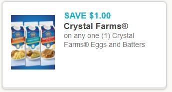 Crystal farms eggs and batters