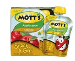 Motts snack and go March