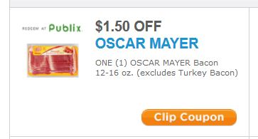 Printable Coupons And Deals on oscar mayer bacon printable coupon