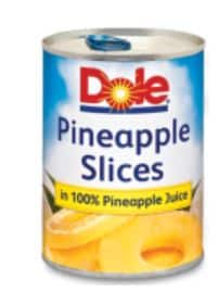 Dole pineapple may